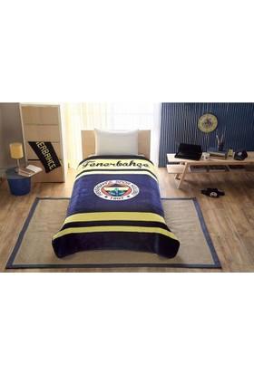 Taç Lisanslı Fenerbahçe Logo Battaniye