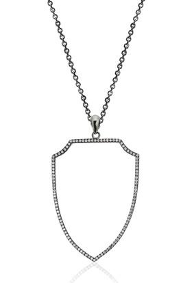 Khailo Silver İnce Royal Kolye P0696Bw