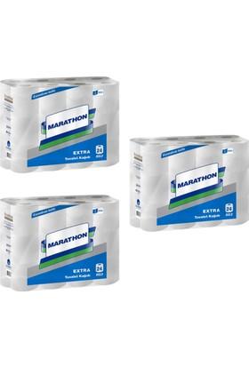 Marathon Extra Tuvalet Kağıdı Koli 24'lü x 3 Paket