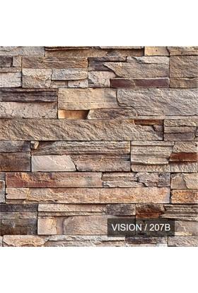 207 B Taş Desenli Duvar Kağıdı