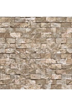9100 Taş Desenli Duvar Kağıdı