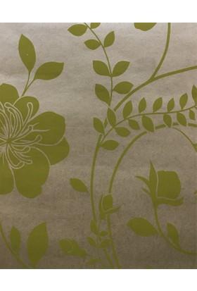 1004 Decohome Çiçek Desenli Duvar Kağıdı