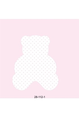 112-1 Pembe Ayıcıklı Çocuk Odası Kağıdı