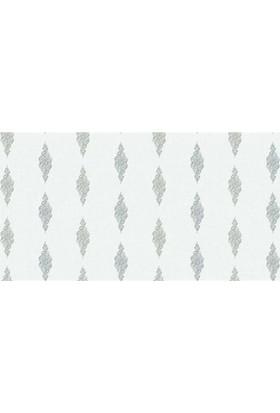 6527-1 Beyaz Damask Duvar Kağıdı