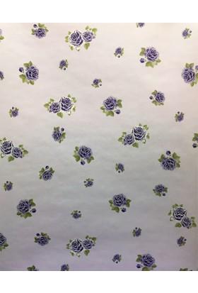 46384 BN Wallcoverings Çiçek Desenli Duvar Kağıdı