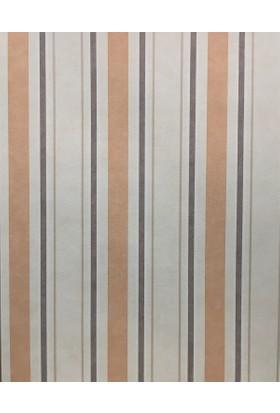 141997 Grandeco Çizgili Desenli Duvar Kağıdı