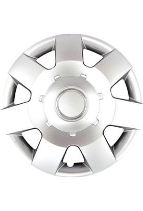 Chevrolet Kalos 14 İnç Jant Kapak Seti 4 Lü Takım Çatlamaz, Kırılmaz, Dayanıklı, Esnek