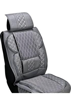 Audi A6 Araç Koltuk Kılıfı Seti Yüksek Kalite Deri Ortopedik (Ön-Arka) Komple Takım