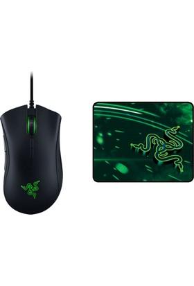 Razer Deathadder Elite Mouse + Razer Goliathus Speed Cosmic Small Mousepad