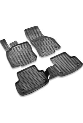 Volkswagen Tiguan Siyah 3D Havuzlu Paspas 2016 ve Üzeri
