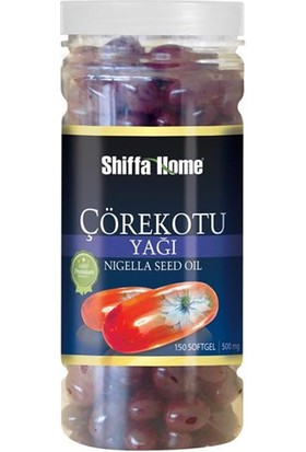 Shiffa Home Çörekotu Yağı Soft Jel 500 X 150 Mg