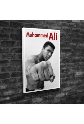 Muhammed Ali Kanvas Tablo