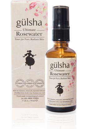 Gülsha Ultimate Rose Water Sprey 50 Ml