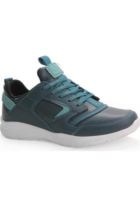 Bletix 5133 Yeşil Gümüş Spor Ayakkabı