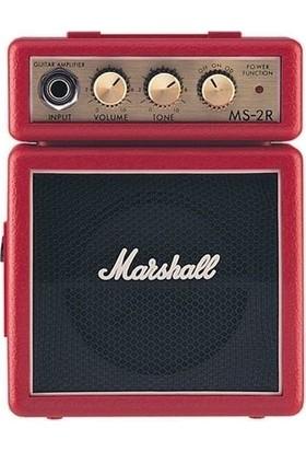 Marshall Ms-2R Mini Elektro Gitar Amfisi