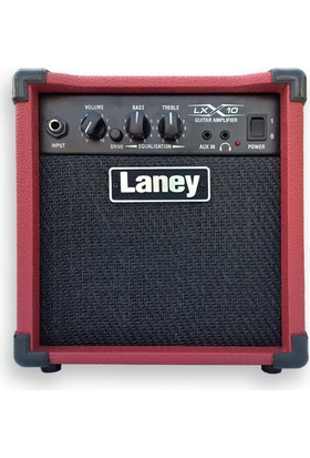 Laney Lx10-Red Elektro Gitar Amfisi