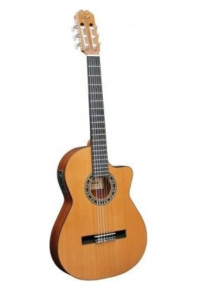 Admira Admira Malaga-Ectf İnce Kasa Elektro Klasik Gitar / Fishman Adm0540Ectf
