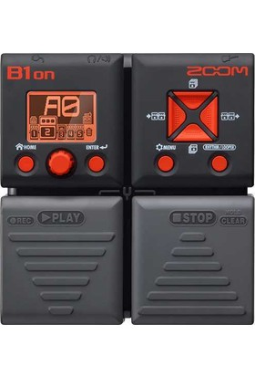 Zoom B1On Multi-Efekt Bas Prosesörü