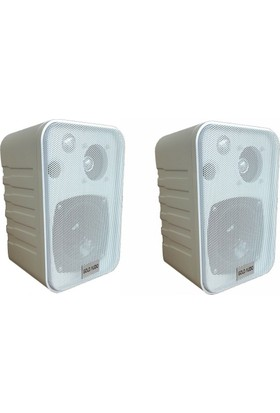 Gold Audio Ga405 100Watt 4'' Kabin Hoparlör Beyaz X2 Adet
