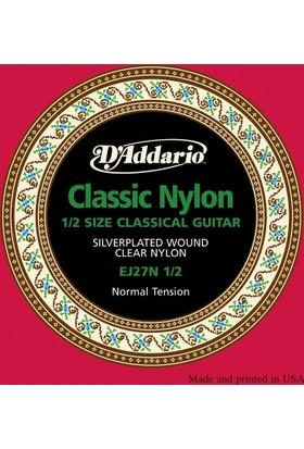 Daddarıo Ej27N 1/2 Klasik Gitar Teli Set Tel 1/2 Gitar İçin