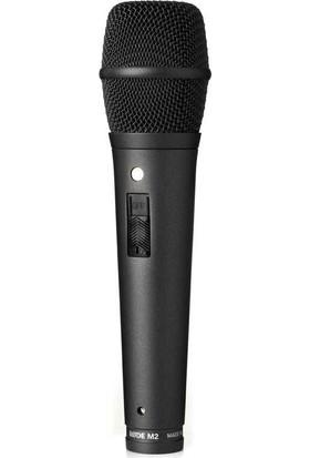 Rode M2 Mikrofon Live Performance Kondansatör (Mount İle Birlikte)