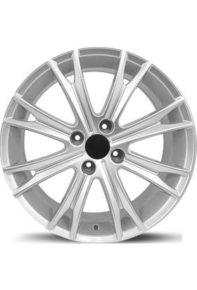 EMR FR384-02 17'' 7.0 Offset 4x108 ET26 Citroen-Peugeot Uyumlu Silver Jant