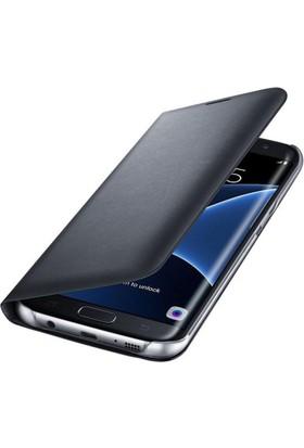 Teknoarea Samsung Galaxy J7 2017 Suni Deri Cüzdan Kılıf Flip Wallet