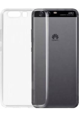 Teknoarea Huawei P10 Kılıf 0.2 Mm Silikon Arka Kapak Şeffaf