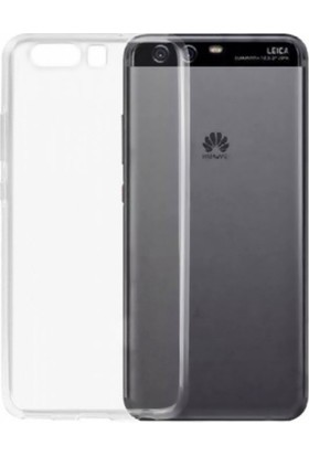 Teknoarea Huawei P10 Kılıf 0.2 Mm Silikon Arka Kapak Şeffaf + Cam