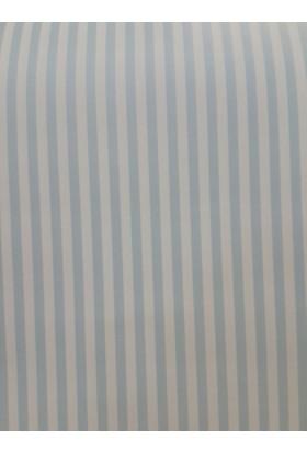 Kağıt Sepetim İthal Çizgili Duvar Kağıdı