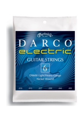 Martin D9600 10-52 Elektro Gitar Teli Darco (Light/Heavy)