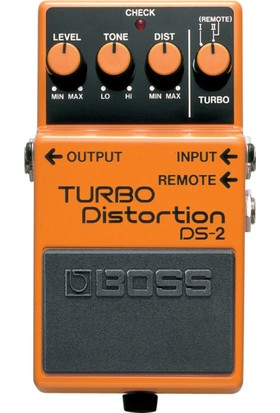 Boss Ds-2(T) Turbo Distortion Compact Pedal