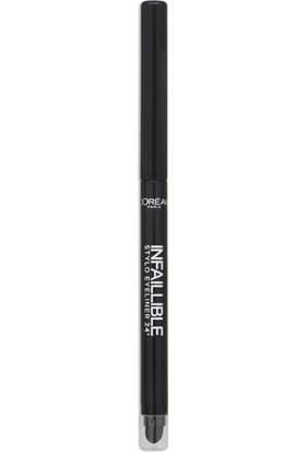L'Oréal Paris Infaillible 24H Göz Kalemi 301 NIGHT DAY BLACK