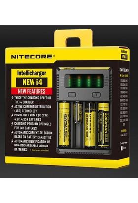 Nitecore New i4 intelli charger Li-ion 4 lü Pil Şarj Cihazı