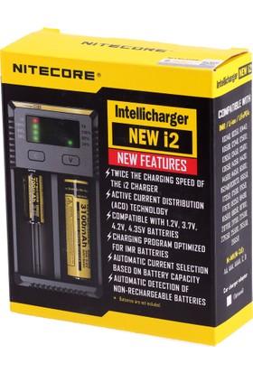 Nitecore New i2 intelli charger Li-ion 2 li Pil Şarj Cihazı
