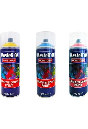 Master'on Graffiti Sprey Boya 3'lü Set