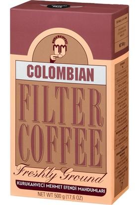 Kurukahveci Mehmet Efendi Colombian Filtre Kahve 500 Gram