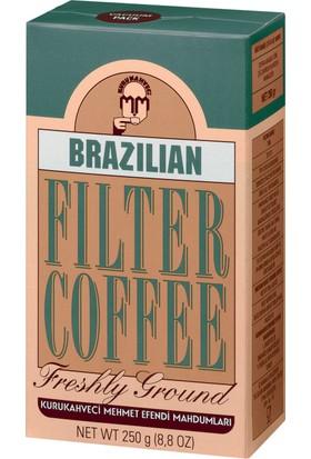 Kurukahveci Mehmet Efendi Brazilian Filtre Kahve 250 Gram