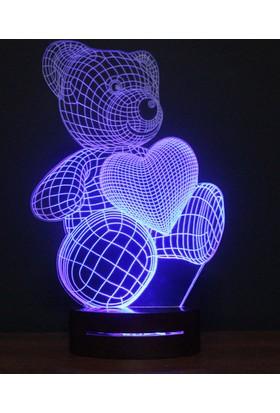 Üç Boyutlu Lamba 3D Lamba Kişiye Özel