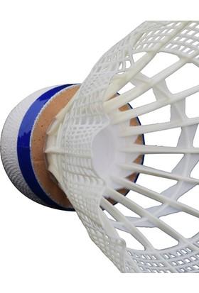 Talbot Torro Tech 450 6'lı Badminton Topu Beyaz