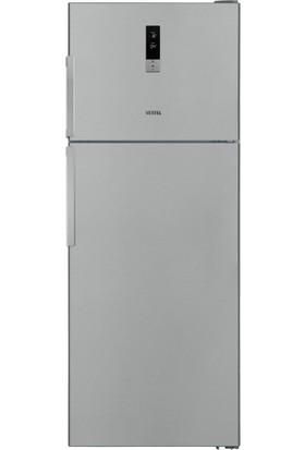 Vestel NF520 EX A++ Ion 520 Lt NoFrost Inox Buzdolabı