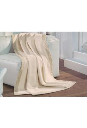 Merinos Soft Bordürlü Pamuklu Battaniye - Çift Kişilik