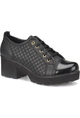 Art Bella U-900P Siyah Kadın Basic Casual Ayakkabı