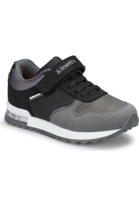 Kinetix Bran Siyah Gri Erkek Çocuk Sneaker Ayakkabı