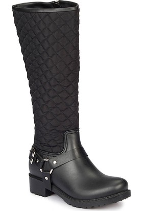 Lumberjack Feyre Siyah Kadın Yağmur Çizmesi
