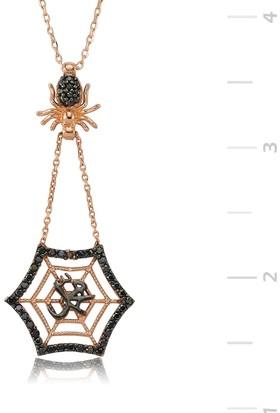 Gumush Gümüş Muhammed Yazılı Örümcek Ağı Kolye