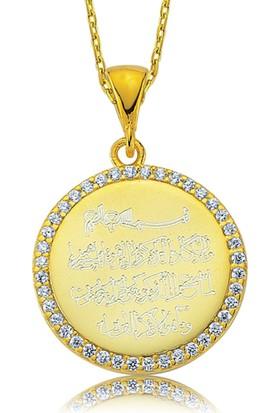 Gumush Gümüş Nazar Duası Kolye 158150