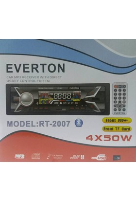 Everton Rt-2007 Bluetooth Usb, Sd, Fm , Aux Oto Teyp