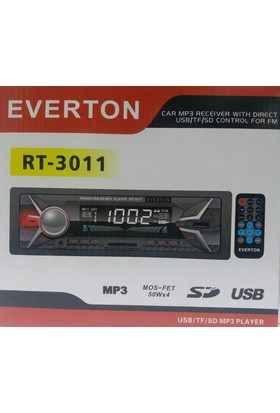 Everton Rt-3011 Usb, Sd, Fm , Aux Oto Teyp