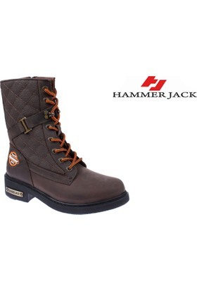 Hammer Jack Hakiki Deri Kadın Bot - Hmr 15945 Kahverengi